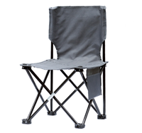 Creative Simple Outdoor Portable Folding Chair Outdoor Camping Beach Chair Fashion Personality Fishing Sketch Chair Q368