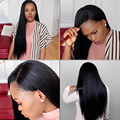 Affordable Full Lace Wigs Mongolian Straight Full Lace Human Hair Wigs for Black Women 7A Pre Plucked Lace Front Human Hair Wigs