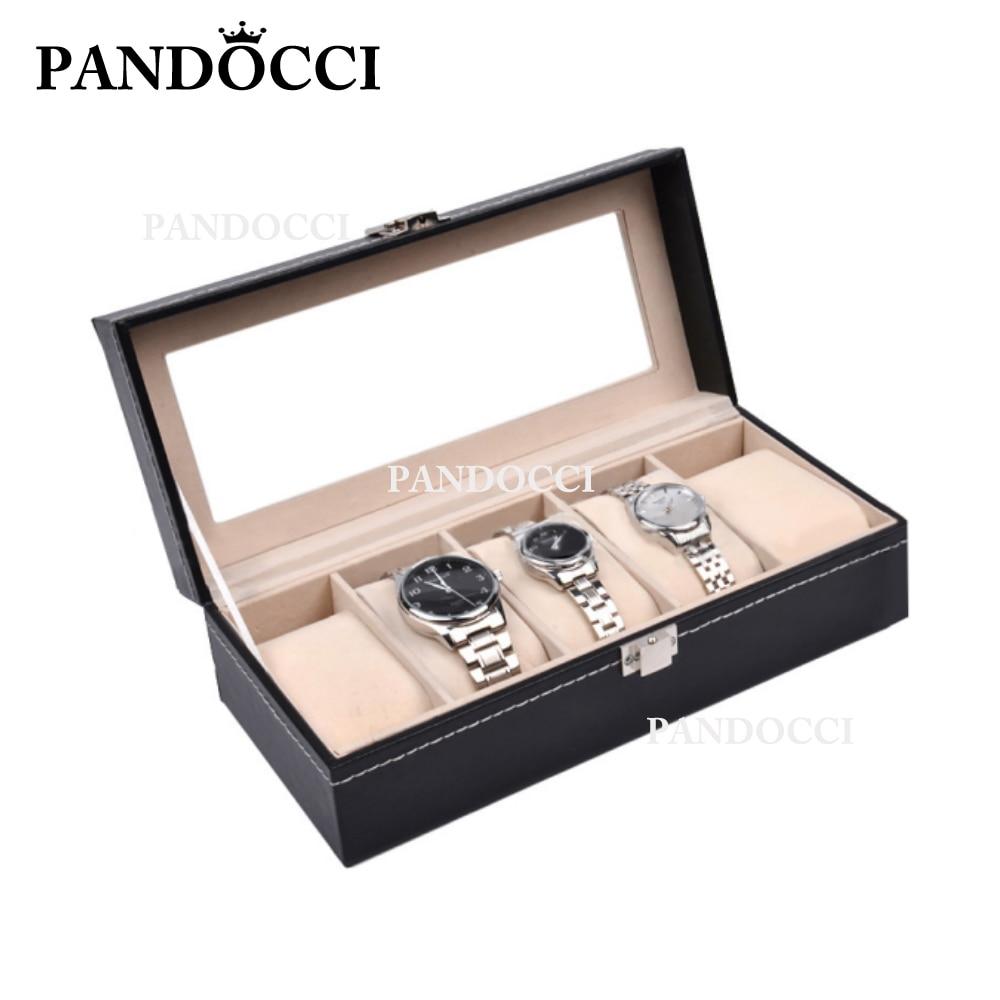 PANDOCCI chanceux éternel charmant haut de gamme montre boîte de protection bijoux d'origine produits de luxe produits périphériques
