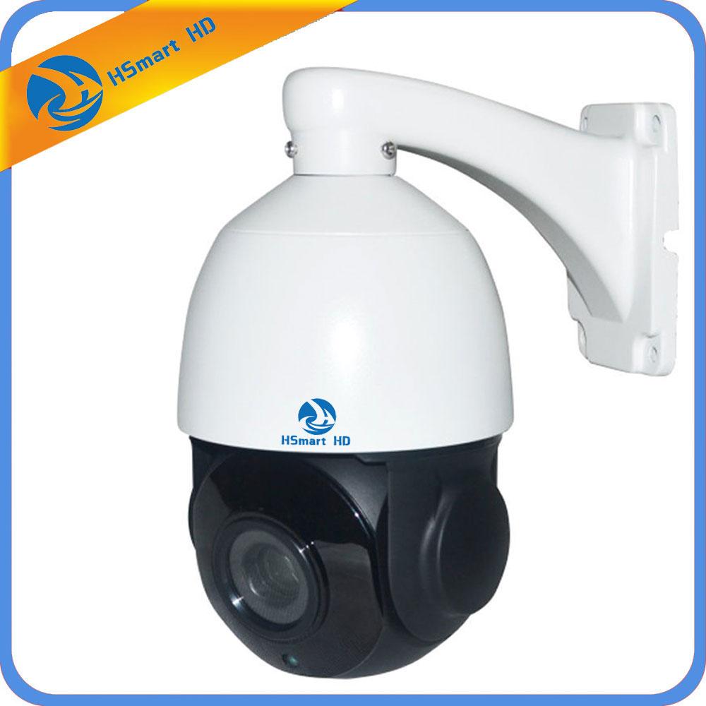 Мини Размеры HD 1080 P Auto Tracking PTZ AHD Камера Скорость купол Cam 18X Оптический зум PTZ Камера CCTV 60 м ИК Ночное видение расстояние