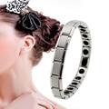 Health Care 2016 New Arrival Woman Anti-Fatigue Germanium Titanium Energy Bracelet Power Bangle