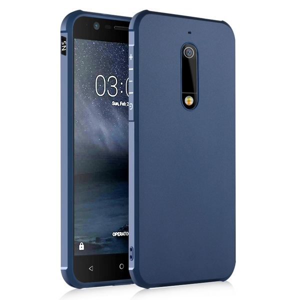 the best attitude 5a4d6 99d03 US $6.57  Aliexpress.com : Buy For Nokia 5 Case For Nokia5 Back Cover Anti  knock Armor Phone Capa Silicon Funda For Men Male from Reliable case for ...