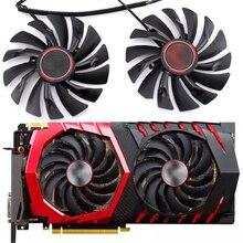 2 teile/los video karten kühler für MSI GTX1080 1070 1060 960 RX470 480 570 580 Grafikkarte GPU lüfter