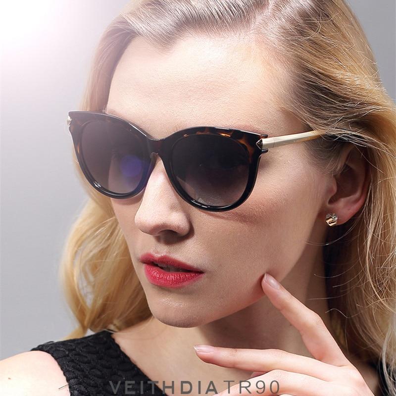 1e2458f97f Veithdia Women Vogue Sunglasses Glasses Lentes De Sol Sun Marcas Gafas  Lunette Sunglass Occhiali Da Sole Leopard Frame Vue 7016