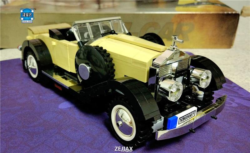 810Pcs The Rolls-Royce Noble Set Creative MOC Technic Series XingBao Educational Building Blocks Bricks Toy Model the merchant of venice noble potion парфюмерная вода 100 мл