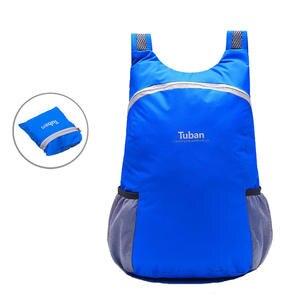 4e957fc012f0 18L Waterproof Backpack for Travel Portable Men Women Backpack Folding Sport  Bag