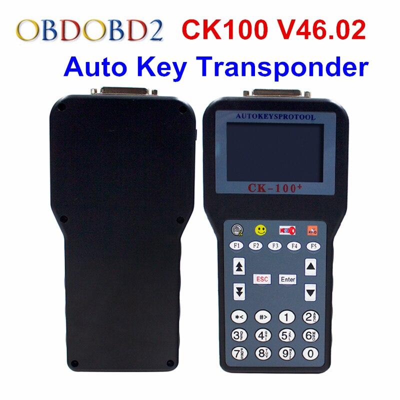 CK-100 Автоматический ключевой программист V46.02 новейшие СББ V46 поколения.Ключевые 02 CK100 программер нет жетоны установлено CK100 V46.Ключевые 02 Производитель