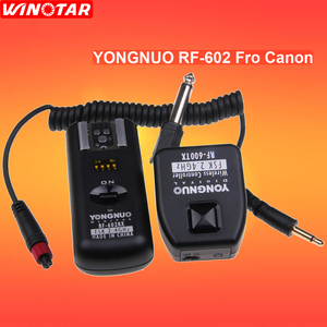 Image 1 - Yongnuo RF 602 RF602 C 2.4GHz Remoto Sem Fio Disparador de Flash Para Canon 800D 760D 750D 700D 650D 600D 550D 1300D 1200D 1100D 100D