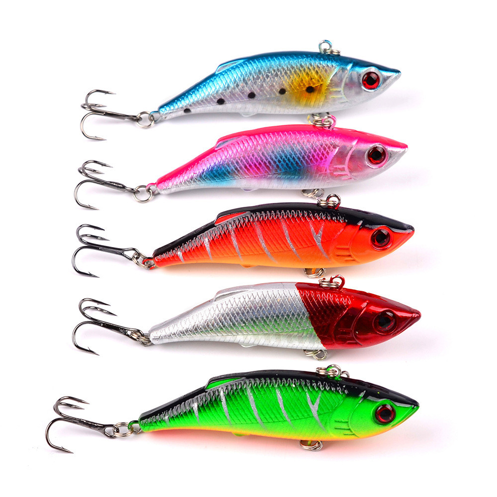 Fishing Lure Wobbler Minnow Swimbait Tackle 45mm 4.1g Pike Trout Topwater Bait