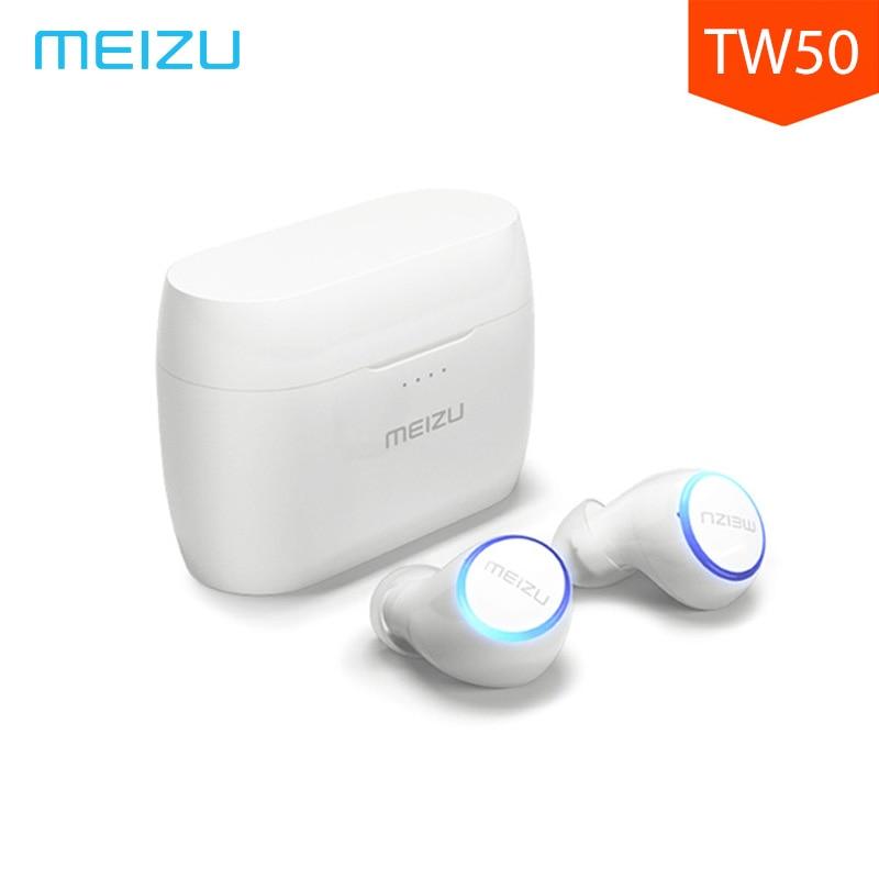 Original Meizu POP TW50 True Bluetooth Earphone Wireless Headset Sport In-ear Earphones Bluetooth 4.2 For iPhone Meizu Xiaomi