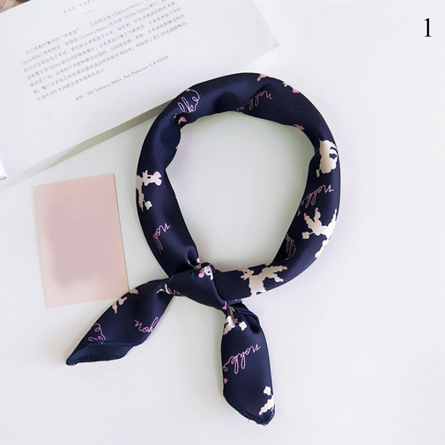 Small Square Scarf Hair Tie...