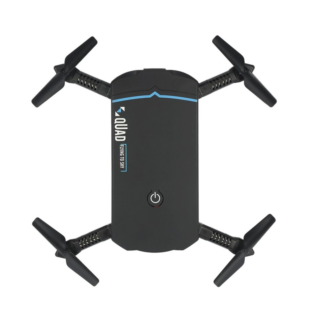102 Foldable Mini Selfie RC Drone Quadcopter With Wifi FPV Camera Real-time Altitude Hold Headless 3D Flips VS JJRC H37 jjrc h12wh wifi fpv with 2mp camera headless mode air press altitude hold rc quadcopter rtf 2 4ghz