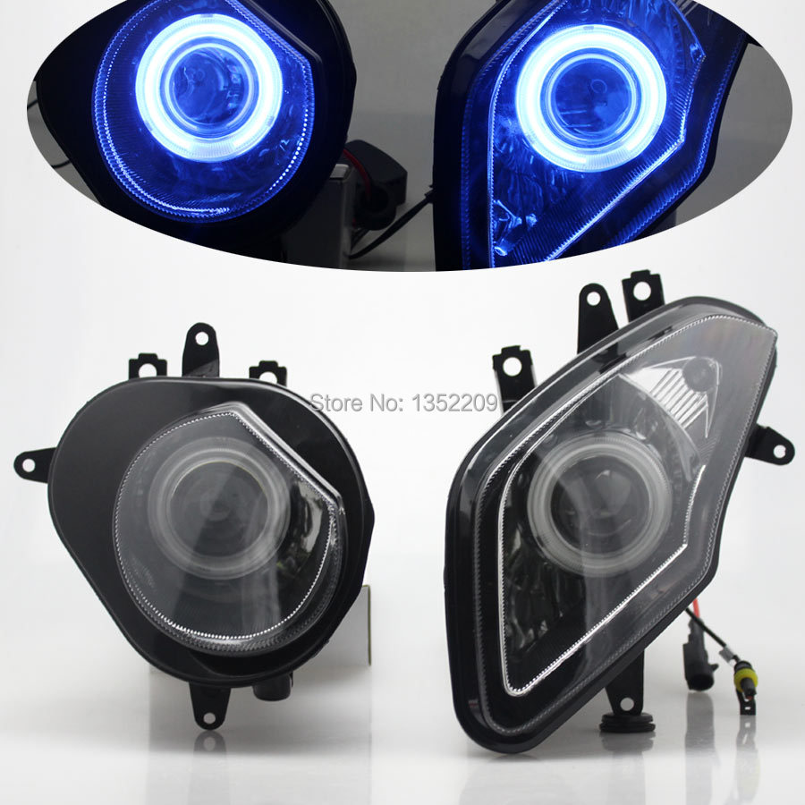 New Demon Eye HID Projector Lens Custom Headlight Assembly Fits For BMW S1000RR 2009-2014 10 11 12 13 Custom