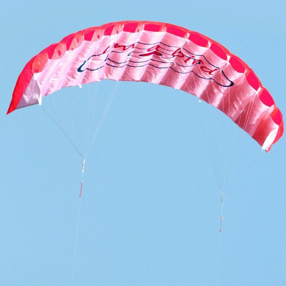 HTB1S.cNJWSWBuNjSsrbq6y0mVXap - ร่มพาราไกลดิ้ง ขนาด 1.4 เมตร แบบคู่ ร่มไนลอน กีฬาทางน้ำ กีฬาชายหาด เล่นกลางแจ้ง Parachute Surfing Kite Paragliding -