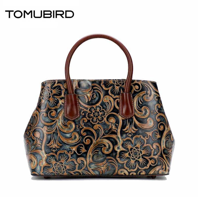 TOMUBIRD new original hand-embossed superior leather designer bag famous brand women bags genuine leather handbags shoulder tomubird 2017 new superior leather retro embossed designer famous brand women bag genuine leather tote handbags shoulder bag