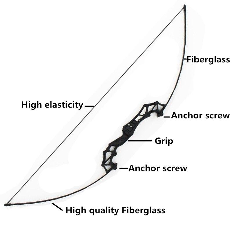 Nouveau arc classique professionnel 30-50 lbs puissant tir à l'arc de chasse flèche de chasse en plein air tir sports de plein air - 2