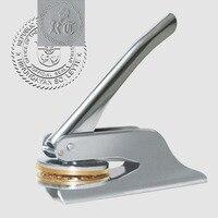 Embossing Stamp Custom Wedding Table Pliers Seal Custom Logo Stamp Leather
