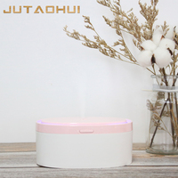 300ML USB Humidifier Air Aromatherapy Diffuser Mini Ultrasonic Electric Essential Oil Aroma Humidifier Diffuser with LED Lights