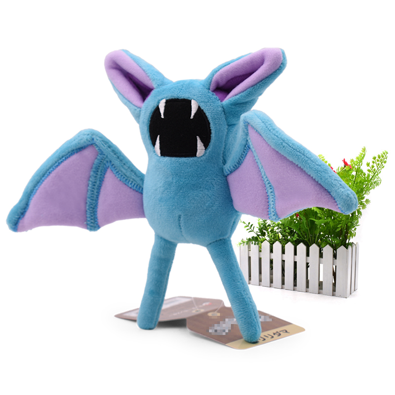 Anime Zubat Stuffed Plush Cartoon Peluche Dolls Christmas Gift Baby Toys For Children 7 18 cm
