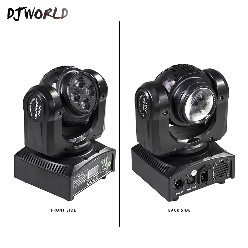 LED Mini Beam Double Sides 1x10W+1x10W Rotating Moving Head 15/21 Channel DMX512 Stage Effect Lighting Good For Event Party
