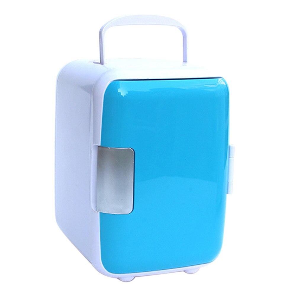 Franchise Rv 12 V 4L voiture Mini frigo Portable thermoélectrique refroidisseur plus chaud réfrigérateur double usage maison voiture Ultra silencieux à faible bruit