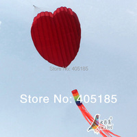 Free Shipping Outdoor Fun Sports Love Heart Kite Software Good Flying Effect