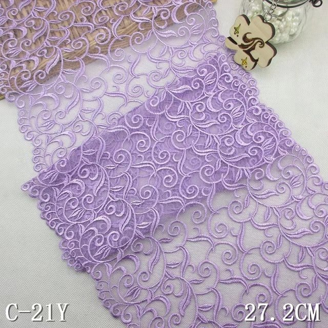 Merveilleux 10 PCS Free Shipping Lilac Embroidered Lace Table Runner Luxurious Light  Purple Lace Table Runner Chair