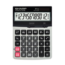 SHARP Calculator EL-D1200 Medium Benchtop Calculator 12-digit Large Display Large Button(China)