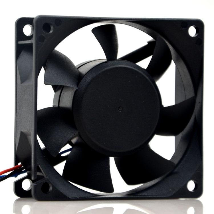 Original SUNON PMD2407PTB1-A 24V 4.3W 7CM 7025 3wire inverter case fan