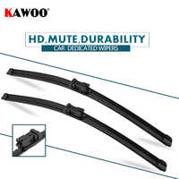 """KAWOO 2pcs Car Wiper Blade 24""""+18"""" For Lancia Delta, (2008-) Auto Soft Rubber Windcreen Wipers Blades Car Accessories Styling"""