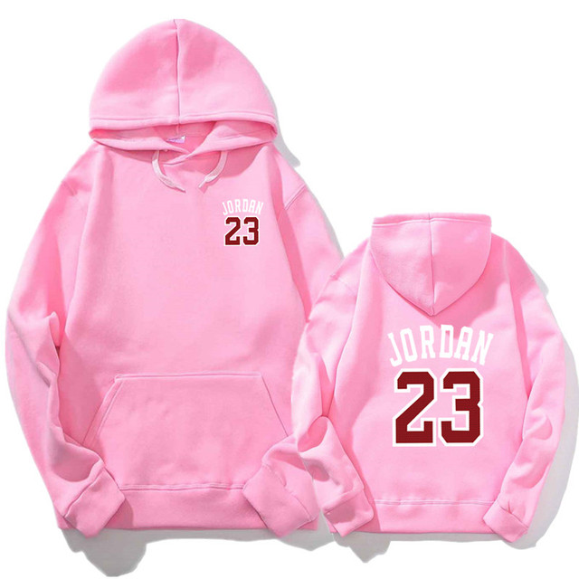 2018 Autumn New Mens Women Pink JORDAN 23 Hoodies Fashion Printing Cotton  100% 1 1 Casual Sweatshirts Men Women Hoody M-2XL 7d861f107d21
