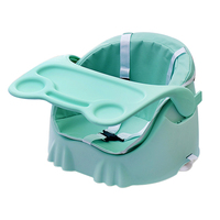 Baby Booster Seat Folding Eating Dining Chair PP Plastic Children's Booster Seat Portable Booster Safety Baby Chair Feeding Seat