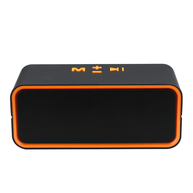 Touch Wireless Bluetooth V4.0 Portable Speaker with HD Sound Support TF Card, USB Disk, 3.5mm AUX Input ...