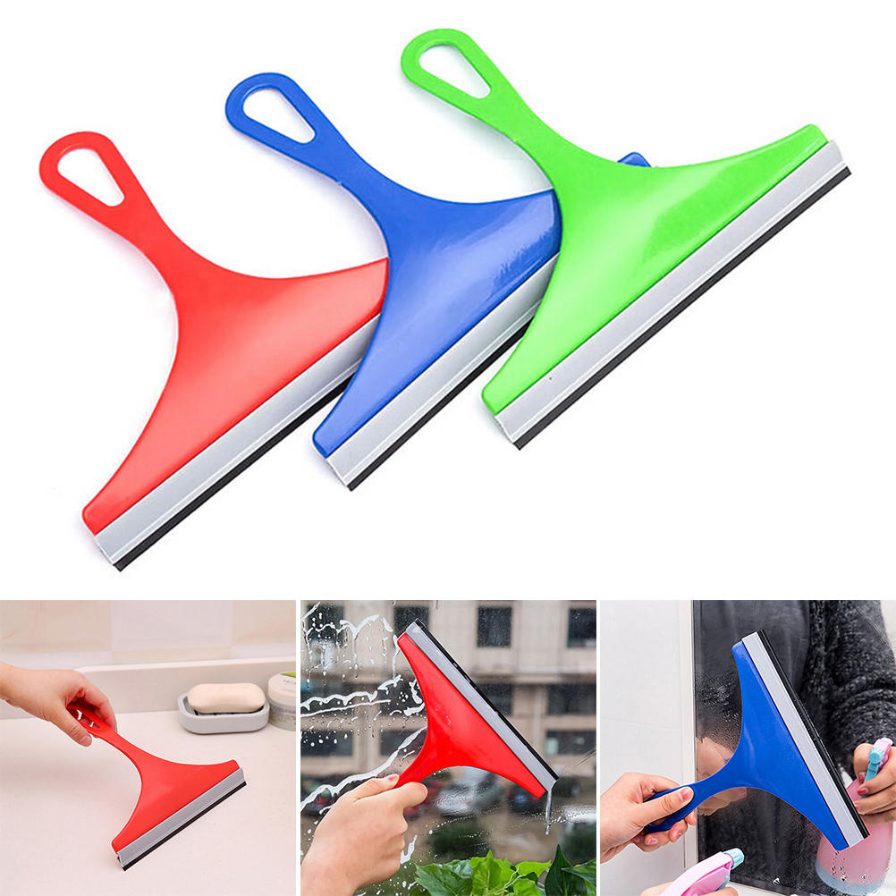 Squeegees Wiper Scraper Blade Squeegee Car Vehicle Windshield Window Washing Cleaning Glass Blowing Home Glass Cleaner 5zcf173 Pure White And Translucent