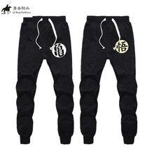 Плюс Размеры одежда Аниме Драконий жемчуг z goku штаны брендовая мужская Повседневная Упражнение Брюки мужские хлопковые эластичные штаны 021208