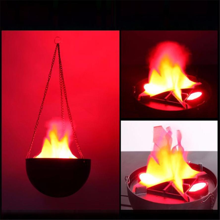 LED 27*20*20cm Flame Fire Light Effect Simulated Nature Brazier Lamp 2017n30