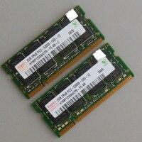 Hynix 4GB 2X2GB PC2 5300S DDR2 667 667Mhz DDR2 Laptop Memory CL5 0 SODIMM Notebook RAM