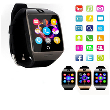 NEW Bluetooth Q18s smartwatch Support NFC SIM GSM TF Card Sports Watch wearable devices bracelet android Phone PK DZ09 A9 GT08