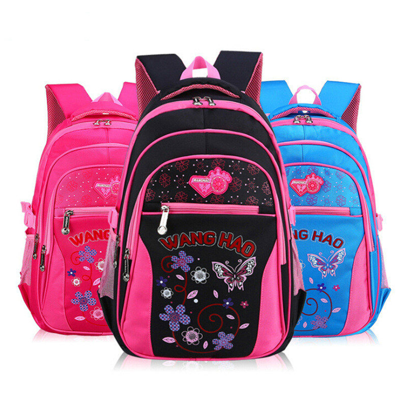 Детские школьные сумки девушки дети Портфель Основной мультфильм Рюкзак принцесса Ортопедические Рюкзак школьный Дети Mochila Infantil