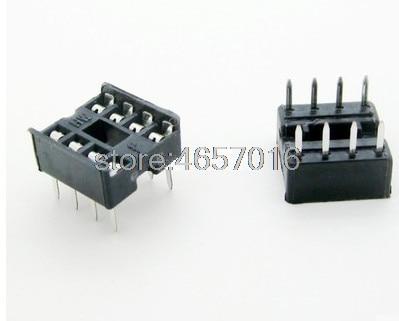 Adam Technologies PLCC-44-AT Socket PLCC 44  Pin Soldertail Through Hole 10 pcs