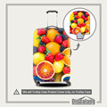 Dispalang Grosso Elastic Estiramento Trolley Caso Bagagem Capa Protetora para 18-30 Polegada Frutas Impressão Chuva Dust Cover Para mala