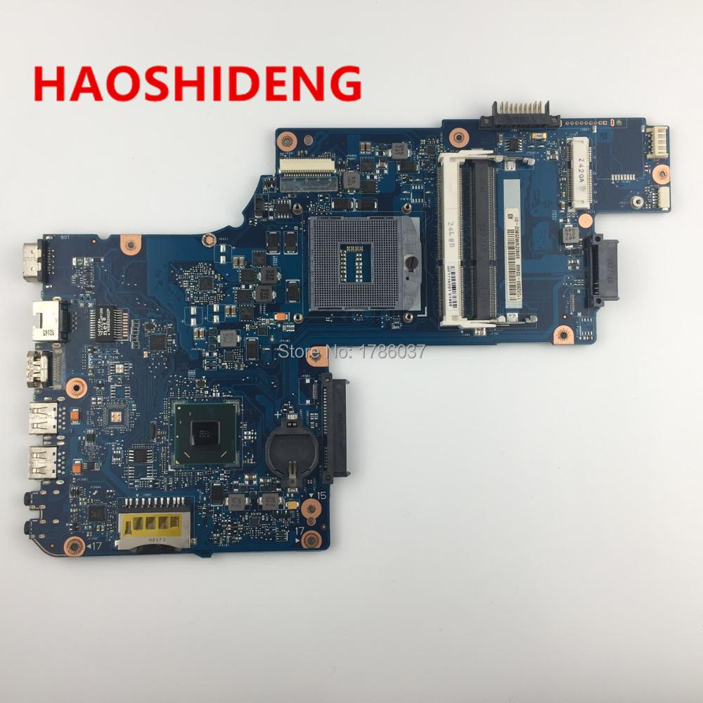 H000052590 for Toshiba Satellite C850 C855 L850 L855 series motherboard,All functions fully Tested !! v000275300 for toshiba for satellite c850 c855 l850 l855 hm70 motherboard 100% work perfectly