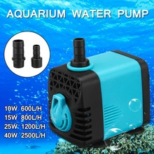 Ultra-quiet Water Pump Aquarium Submersible Water Pump for Pond Pool Fountains Fish Tank Powerhead Fountain Hydroponic стоимость