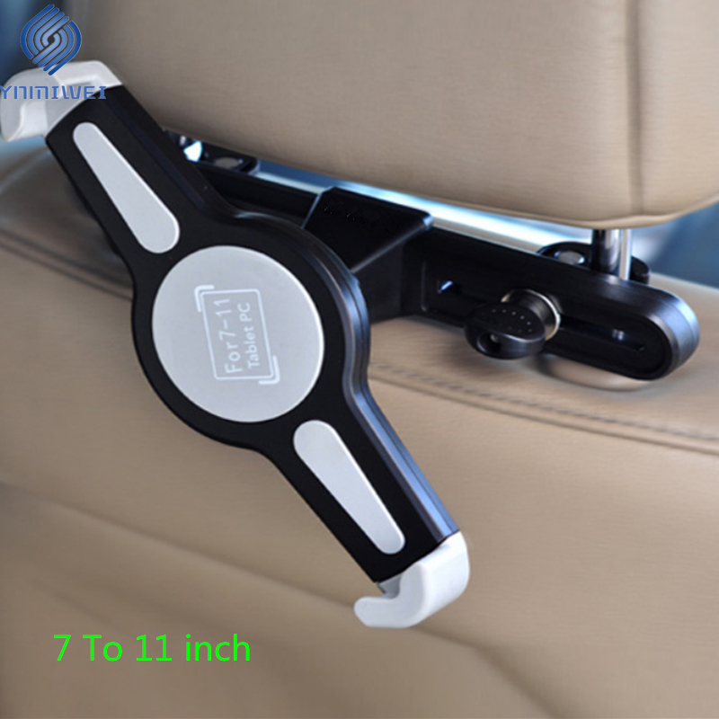 Car Tablet Holder For 7.0 To 11 Inch Headrest Mount Stand Back Seat Mounting For Ipad Samsung Xiaomi Car Accessories(China)