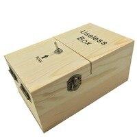 1pcs New Black / Wood / Assembled / DIY Mini Useless Box Fun Joke Novelty Gag Electric Toy Prank Funny Gadget Leave Me Alone