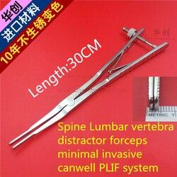 medical orthopedic instrument Spine Lumbar vertebra distractor forcep minimal invasive canwell PLIF system Retractor Pliers