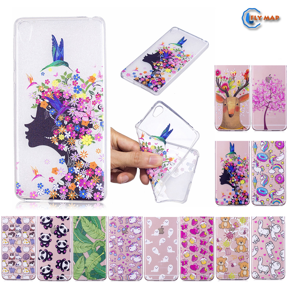 Fitted Case for Sony Xperia E5 SonyE5 LTE TPU Silicone Cover mobile Phone Case for Sony E5 Xperia E 5 F3311 F 3311 painted Cases