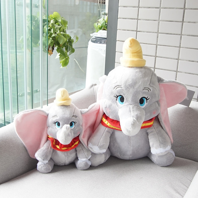 30cm Dumbo Elephant Plush Doll Toys Stuffed Animals Soft Toys For Children Birthday Baby Gift Stuffed Doll For Collection