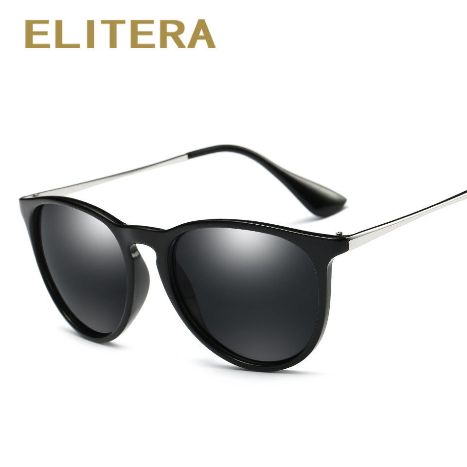 179e63843a ELITERA Retro Round Polarized Sunglasses Women Brand Designer Luxury Sun  Glasses For Men Metal Frame Female oculos Male UV400-in Sunglasses from  Apparel ...