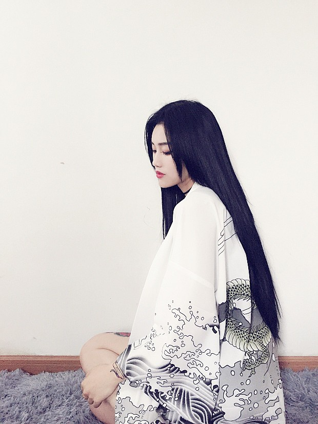 HTB1S.hcKXXXXXXXXVXXq6xXFXXX7 - Vintage novelty summer dragon chiffon women clothing